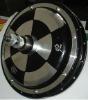 Spoke-wheel motor