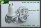 GU10 Ginhi 270lm led flat light 3w GU10