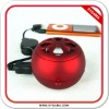 Portable speaker for mp3