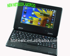 "X-mas gift &Dropship !2GB VIA 8650 Android 2.2 7"" Mini Laptop Netbook &WiFi"