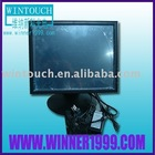19 inch LCD touch monitor/with 4 wire resistive touch screen
