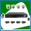 IR dome camera DVR kit 4 channel