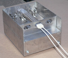 Infrared heating lamp and quartz heating box