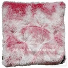 45x45cm Claret velvet car cushion soft beautiful shining