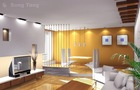 3D Interior Design Rendering CAD drawing
