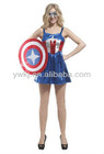 hero pattern fancy dresses for girls/girls party dresses