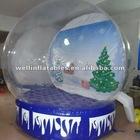 2012 Xmas inflatable snow globe