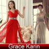 Fashion Party Gown Prom Ball Bridal Dresses CL3403