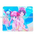 Fabric cloth top mouse pad 2011 cartoon style