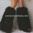 YR-130 Fashion accessories mongolia lamb fur leg warmers