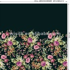100% silk digital print fabric