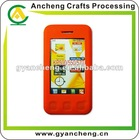 Customs design silicone mobile phone cover