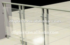 New style glass handrail