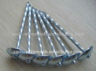 Galvanized roofling nails