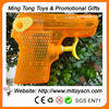 8cm semi-transparent plastic high pressure water guns