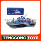 Rc Police Boat,HOT Rc Model Ship