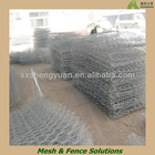Hexagonal gabion wire mesh box