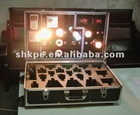 Trolley Bulb Demo Case with trolley and wheel