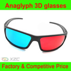 large size anaglyph red cyan 3d glass