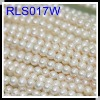 Factory Special Supply 7-8mm Natural Freshwater Bread Pearl Necklace