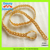 pure 18k gold plated fashion braided metal mesh dressing costume jewelry clothing waist belt for women