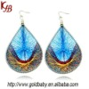 Fashion Handmade Wool Woven Earrings Jewelry Design For Women Wholesale E-1226
