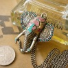 The new design retro European style long section of the elephant necklace