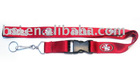 Silk screen printing Nylon lanyard