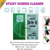 sticky screen cleaner pad