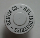 17mm/19mm wholesale eco-friendly materials spary white enamel button
