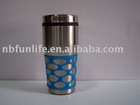 400 ml silicagel sleeve Stainless Steel Sport Bottle