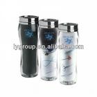 bpa free 16oz stainless steel paper insert travel tumbler,450ml stainless steel travel mug with paper insert
