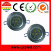 led ceiling down light 7w epistar chip of 3 years warrnty with Shenzhen factory best price