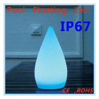New IR remote control Droplet shape swimming pool led