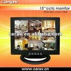 15'' surveillance CCTV monitor