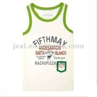 Boy' s casual cotton tank top