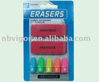 E25-0164 7Pcs Eraser Set