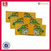 Custom elegant synthetic paper matt sticker