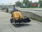 Mini loader with 4 in 1 bucket
