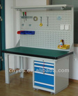 Work Bench storage worktable with hangerboard heavy duty workbench