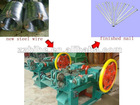 low price steel making nail machine