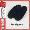 2012 indoor led lighting slippers comfortable indoor slippers(KN-SL-78)