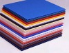 2012 new style colorful Twin Wall Polypropylene Sheet corrugated PP hollow plastic sheet(YF2001)