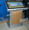touch screen kiosk for advertising display in exhibition