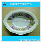 Oval wave melamine soup bowl
