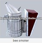 Easy to operate stainless steel bee smoker