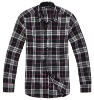 men's casual check shirt