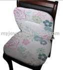 2 fold floral design chair pads