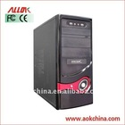 Hot-sale Black Horizontal Desktop ATX Computer PC Case