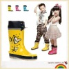 High grade eco-friedfly children rain boot